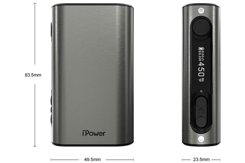 Eleaf iPower 80W dimensions