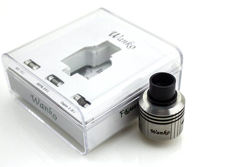 Focusecig Wanko RDA Packaging