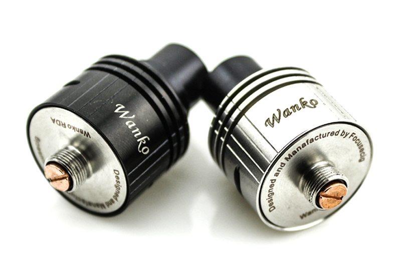 Focusecig Wanko RDA Silver and Black