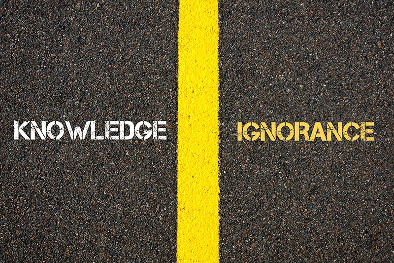 Knowledge - Ignorance