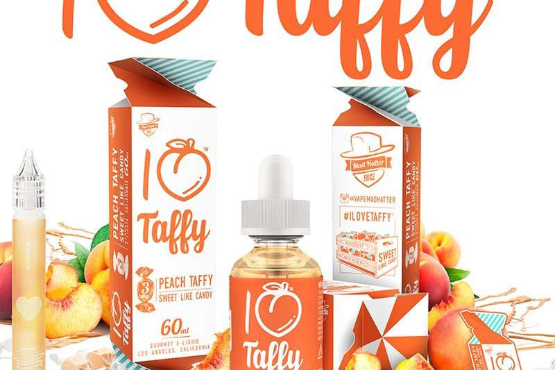 Mad Hatter E-Liquid I Love Taffy