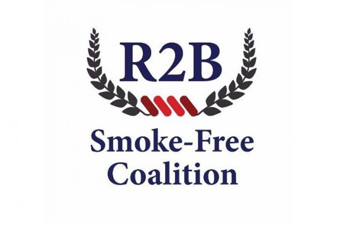 R2B Smoke-Free Coalition Logo