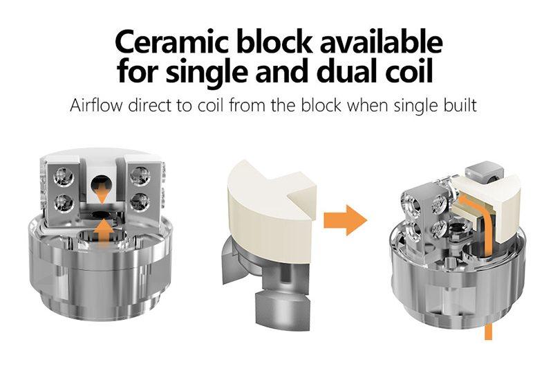 Smoant Mobula RTA Single Coil-Dual Coil