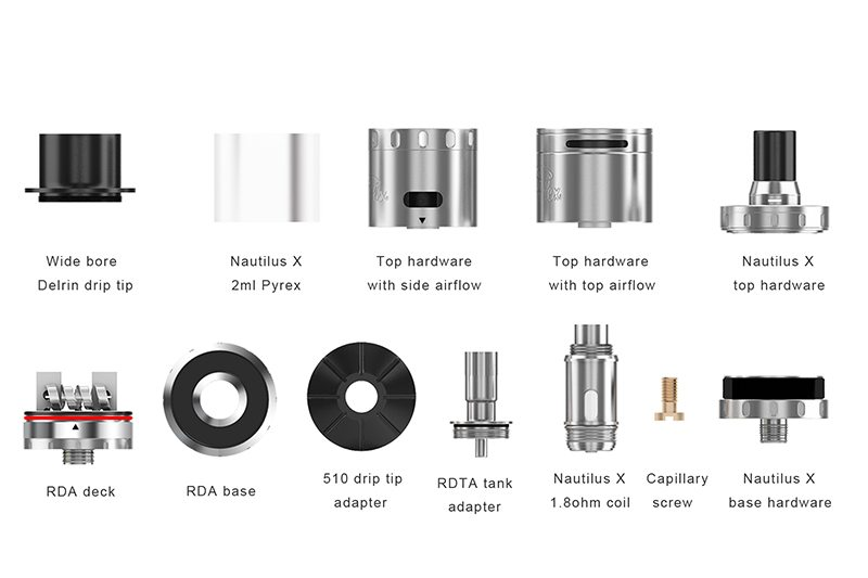 Aspire QuadFlex Accessories