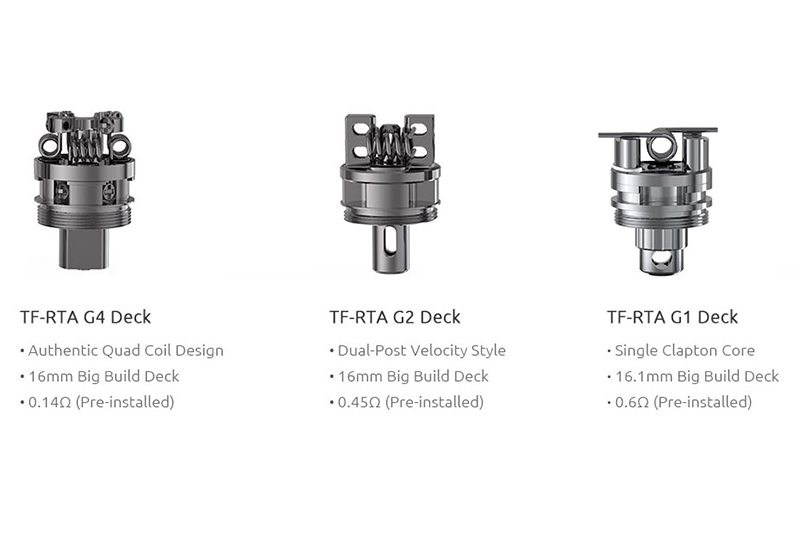 SMOK TF-RTA G Decks