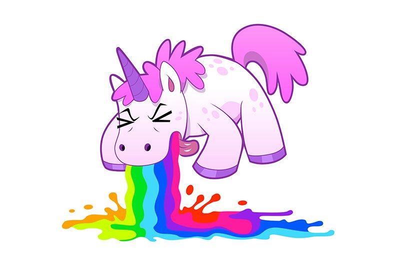 Unicorn Puking