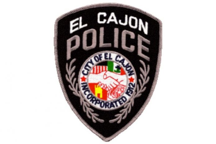 El Cajon PD badge