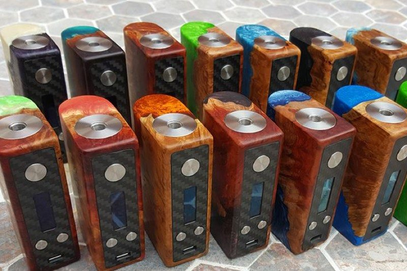 Rocket Science Mods custom DNA 75 boxes