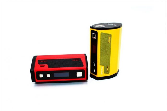 iJoy Maxo red and yellow