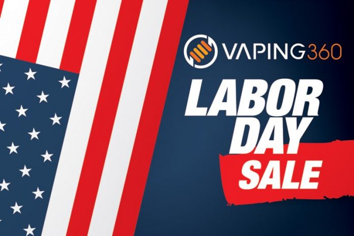 Vaping 360 Laborday Deals