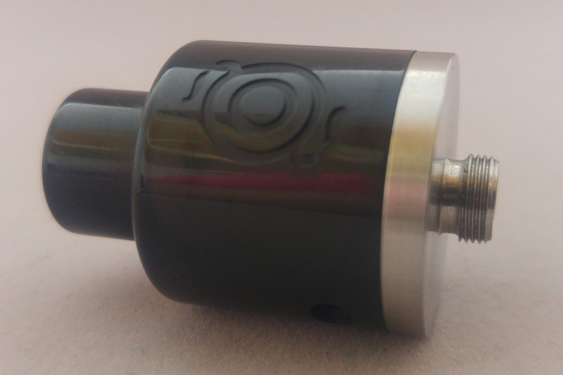 vapourart-gp-dripper-black-ultem-logo-view