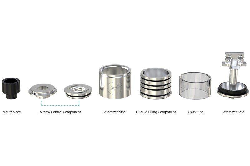 Wismec IndeReserve components