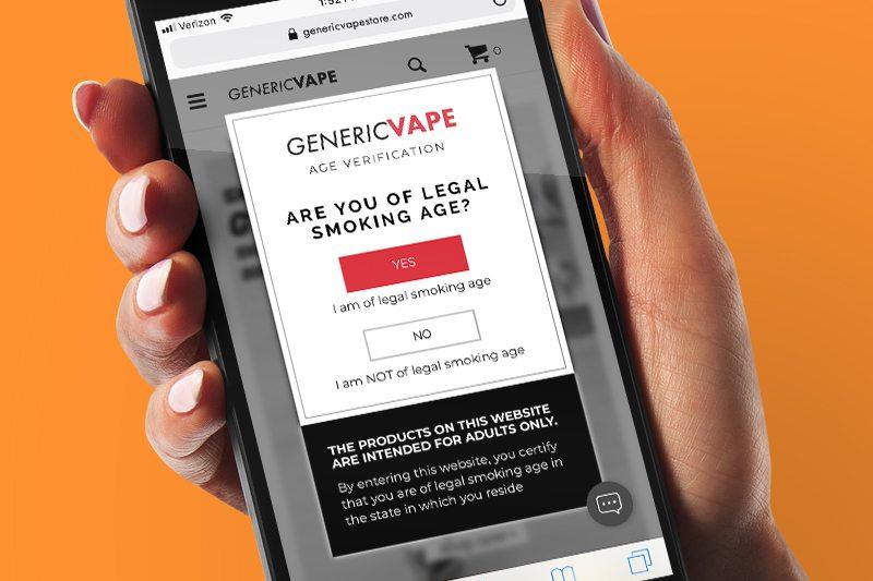Age Verification for Online Vaping Shops Explained