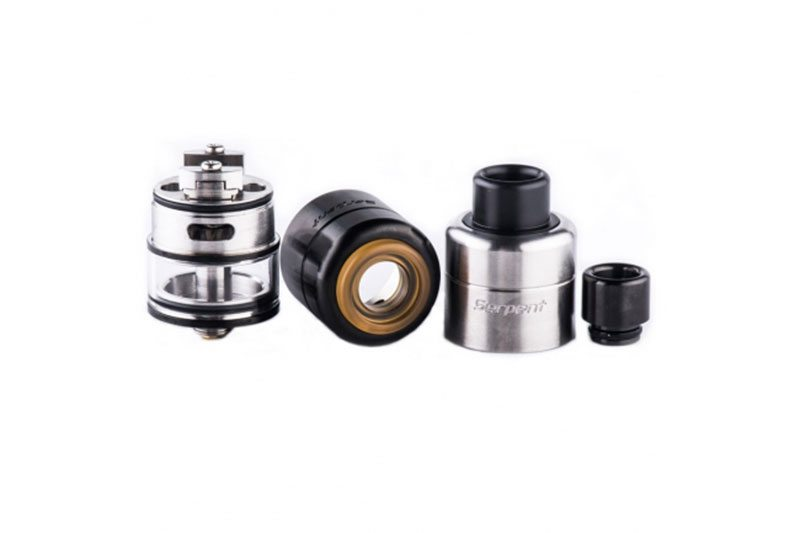 Wotofo Serpent RDTA black and silver