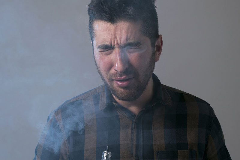 Is secondhand vapor a concern for bystanders