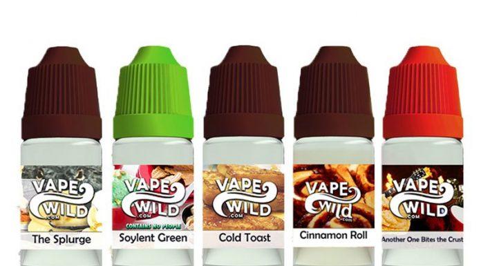 collection vape wild e-liquid