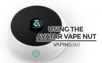 avatar vape nut video review