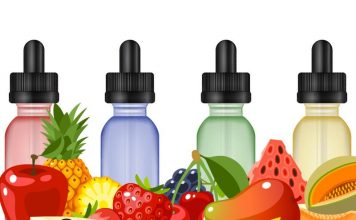 12 flavor concentrates e-liquid