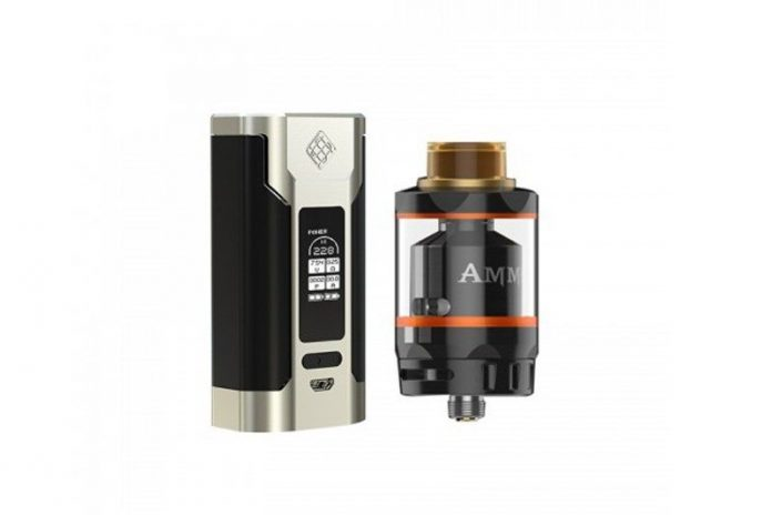 Geekvape Ammit Dual Coil RTA and Wisemec Predator 228 Bundle