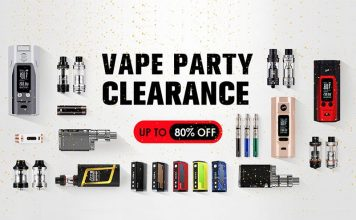 vape party clearance