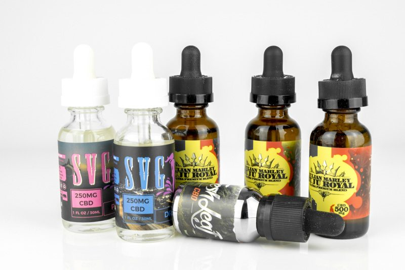 CBD e-liquid vape juice