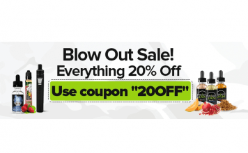 Ecig's Blow Out Sale