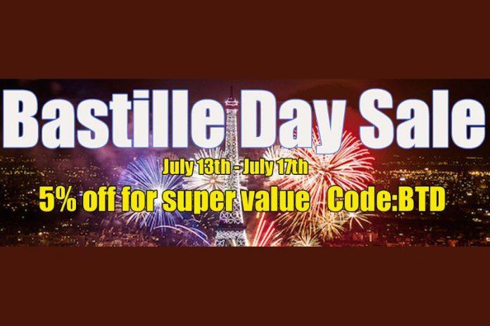Efun's Bastille Day Flash Sale