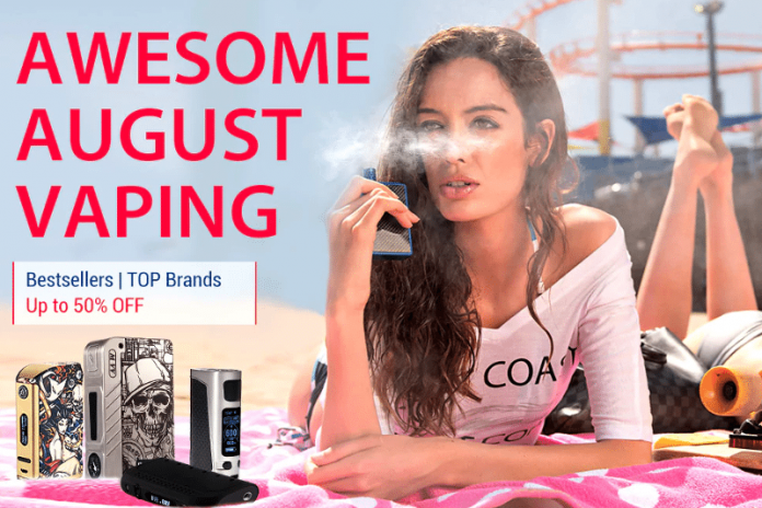 Gearbest Awesome August Vape Sale