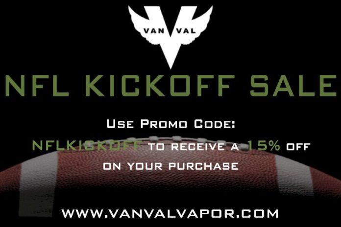 VanVal Vapor NFL Sale