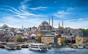 Turkish-moschee-view