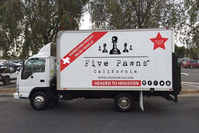 five pawns leads to texas