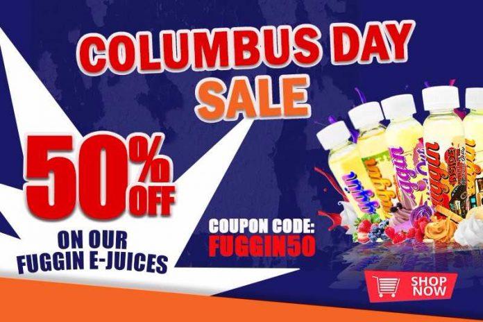 Fuggin Vapor Columbus Day