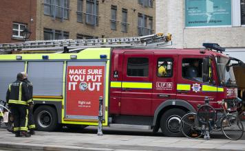 London firefighters