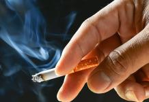 Nicotine-in-a-cigarette