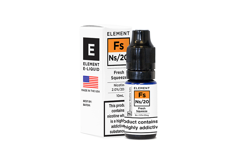 Element eliquids ns20 fresh squeeze bottle
