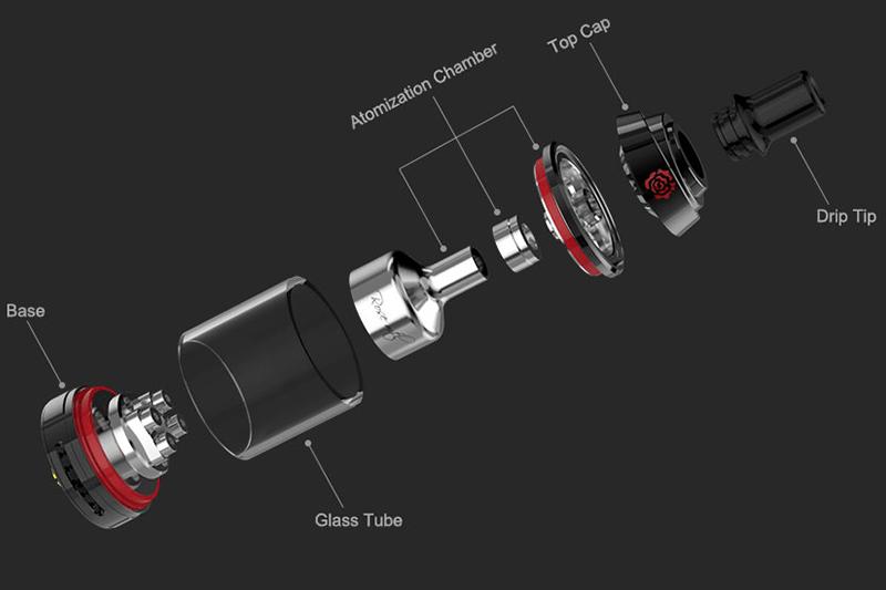 Fumytech-rose-mtl-components