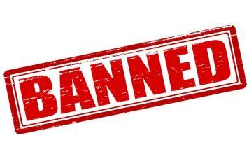 Ban stamp