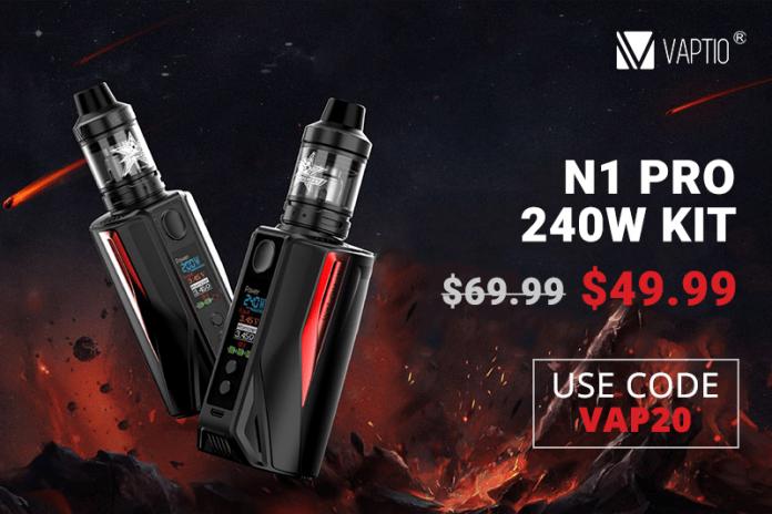 vaptio n1 pro 240W kit deal