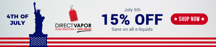 4th july directvapor deal