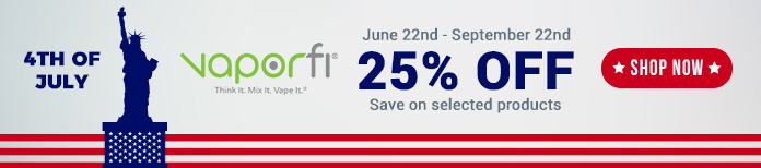 4th July vaporfi deals