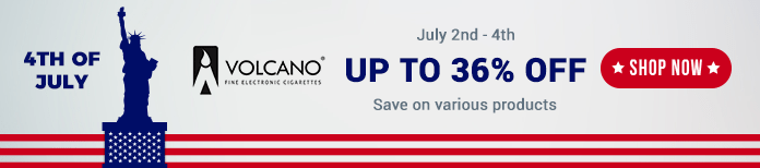 4th july volcano vape deals