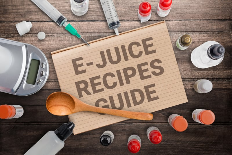 9 Amazing E-Liquid Recipes You'll Love to Make