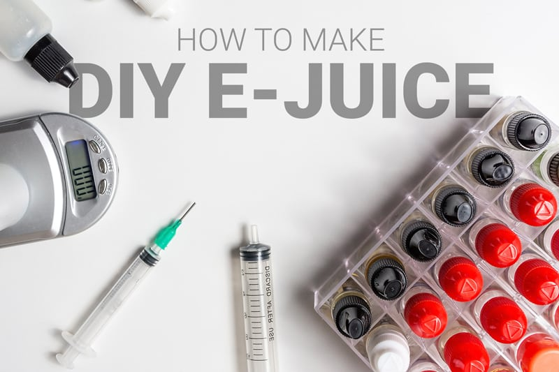 How to Make DIY E-Juice: A Beginner's Guide - Vaping360