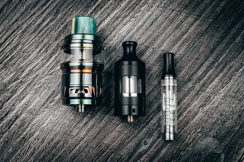 Atomizers vs Clearomizers vs Cartomizers