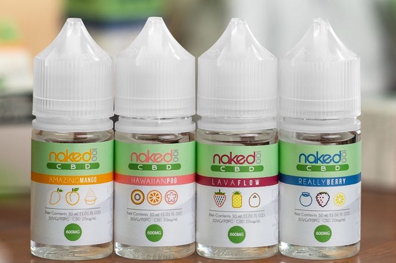 Naked 100 CBD: Your Favorite Tropical Flavors Now with CBD - Vaping360