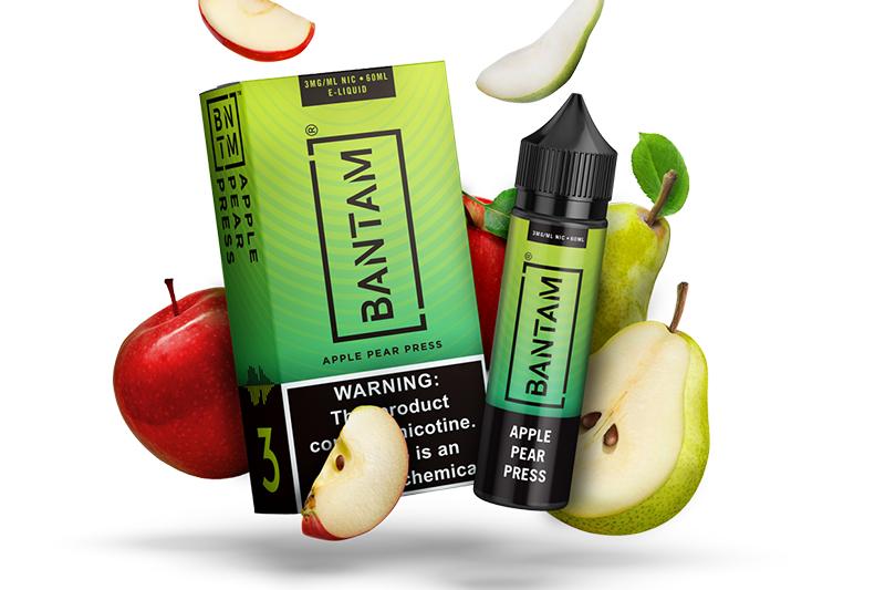 Bantam Apple Pear Press e-liquid