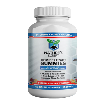 Nature's Script High Potency Gummies