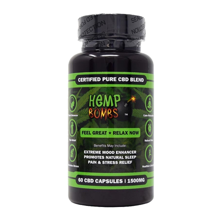 Hemp Bombs High Potency Capsules