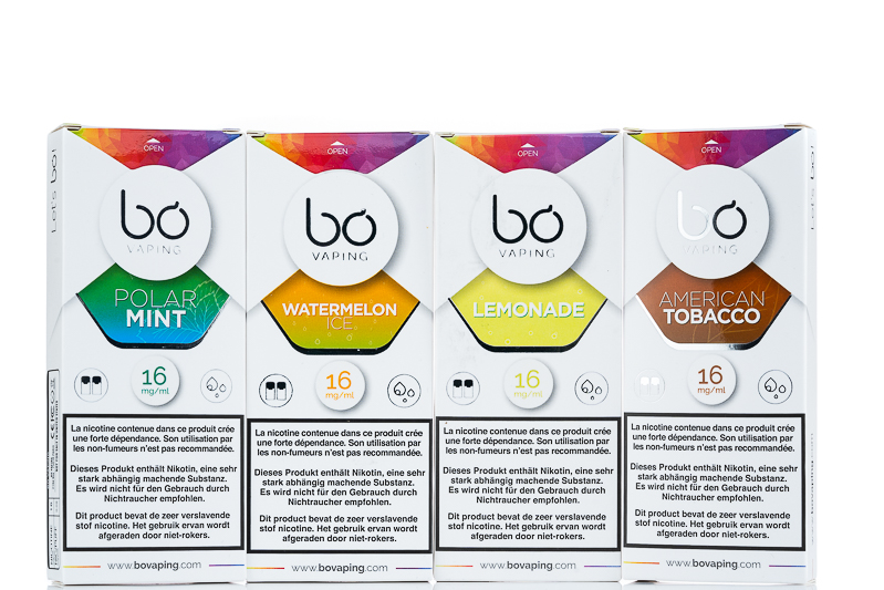Bo One Bo Plus pod packages