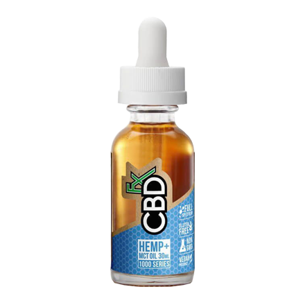 CBDfx CBD Oil Tincture